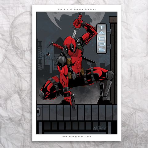Deadpool Fine Art Print