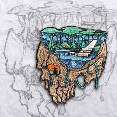 Minds Eye, Dagobah Embroidery Patch