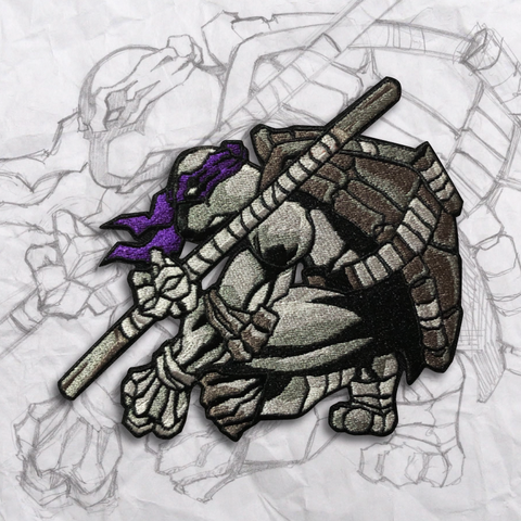 Donatello Exclusive Embroidery Morale Patch