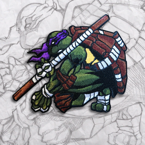Donatello Embroidery Morale Patch