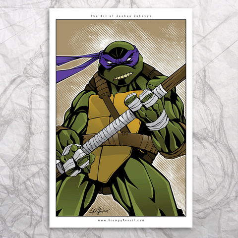 Ninja Turtle Fine Art Prints