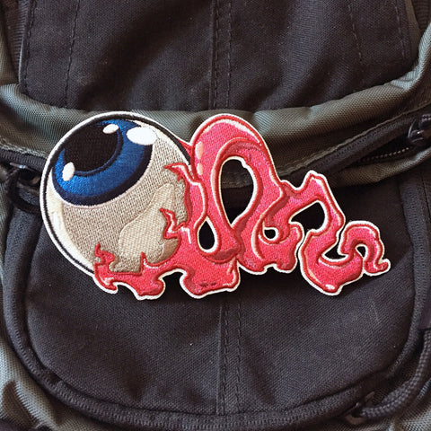 Blue Eye Embroidery Morale Patch