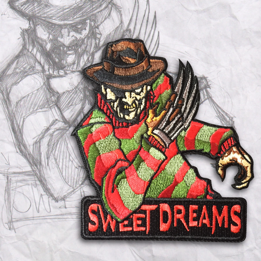 SWEET DREAMS, Freddy Embroidery Morale Patch