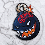 The Grumpy Blue Bomber Embroidery Morale Patch