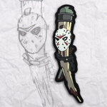 Grumpy Friday the 13th Pencil PVC Patch