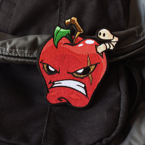 The Bad Apple Embroidery Morale Patch
