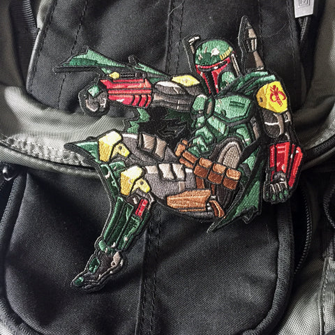 Boba Fett Embroidery Morale Patch