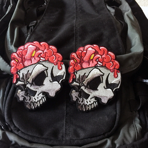 Numbskull Embroidery Morale Patch