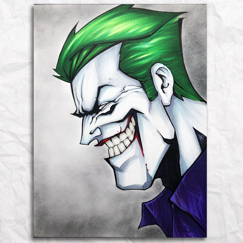 The Joker Original Artwork