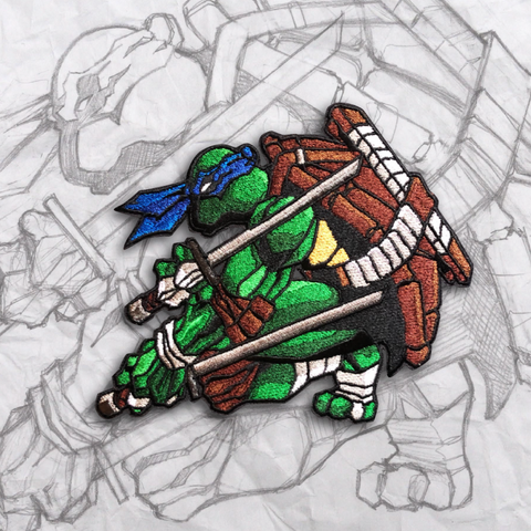Leonardo Embroidery Morale Patch