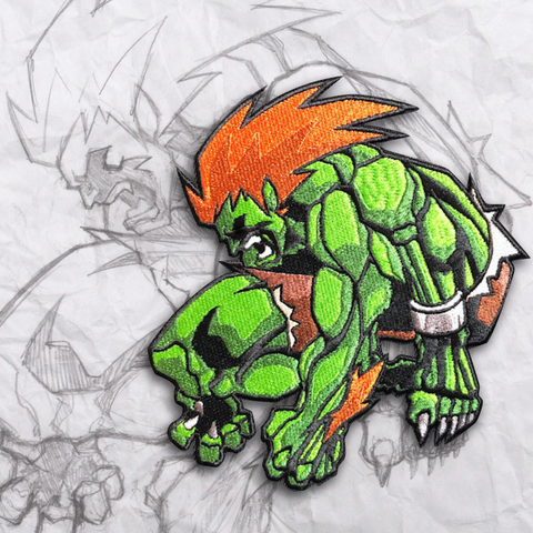 Blanka Embroidery Morale Patch