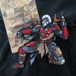 The Mandalorian Embroidery Patch