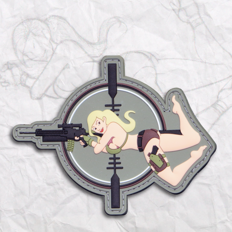Mary Moneyshot PVC Patch