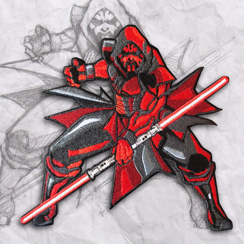 Darth Maul Embroidery Morale Patch