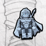 Grumpy Brick fig Moon Knight PVC Patch