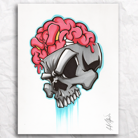 NumbSkull Original Artwork