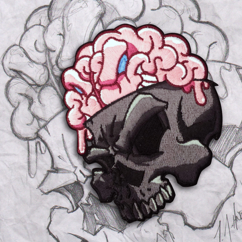 New! Numbskull v 3 Embroidery Morale Patch
