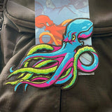 Grumpy Octo Embroidery Patch