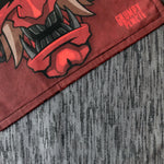 Devil Oni Handcrafted Limited Edition Handkerchief
