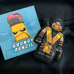 Grumpy Brick Scorpion PVC Patch
