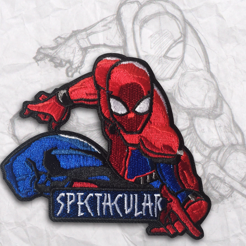 Spider-Man Embroidery Morale Patch