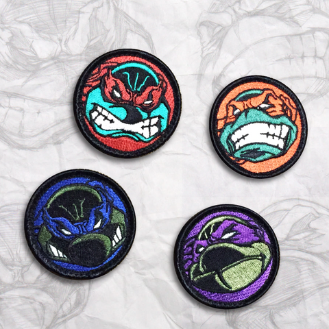 Ninja Turtle Patch Set