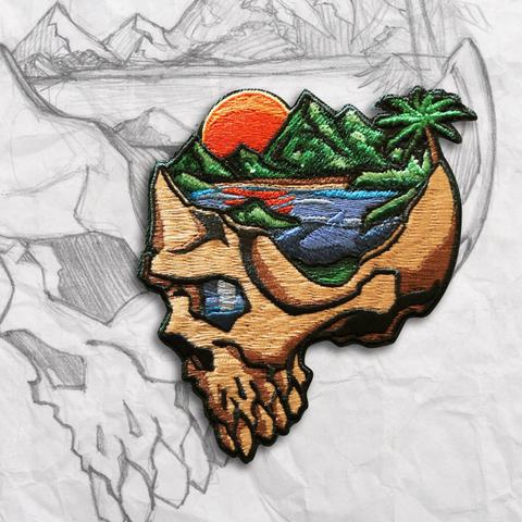 Minds Eye, Tropical Embroidery Morale Patch