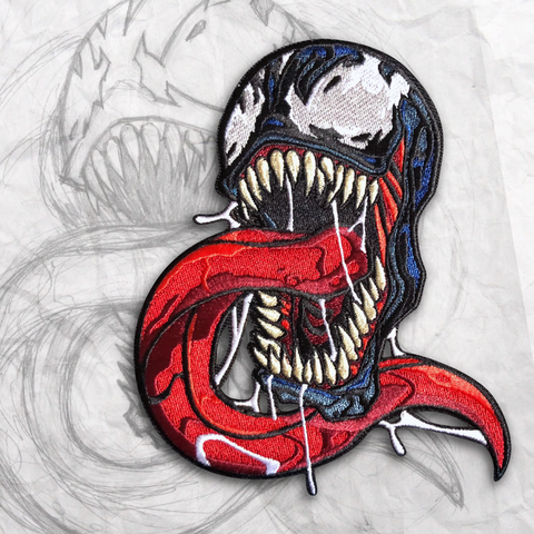 Venom Embroidery Morale Patch