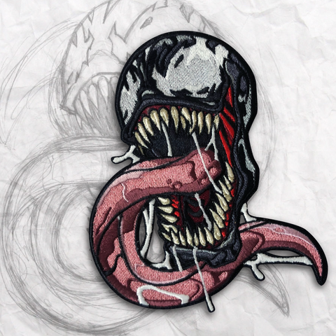 Venom V2 Embroidery Morale Patch