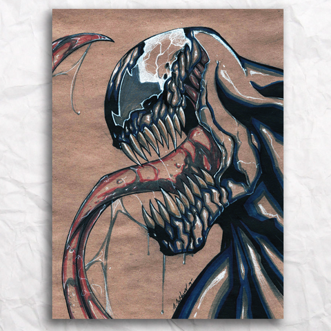 Venom Original Artwork