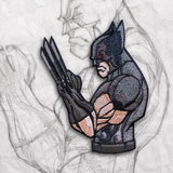 Grumpy Wolverine X-Force Embroidery Patch
