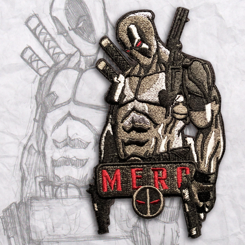 X-Force MERC Anniversary Embroidery Morale Patch
