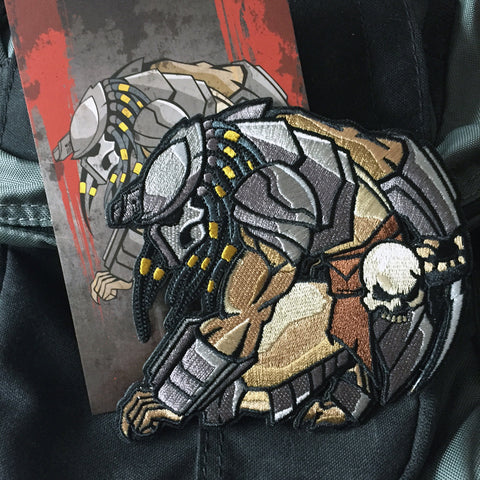 Predator Embroidery Morale Patch