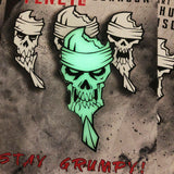 Grumpy Glow Skull Pencil v1 Patch