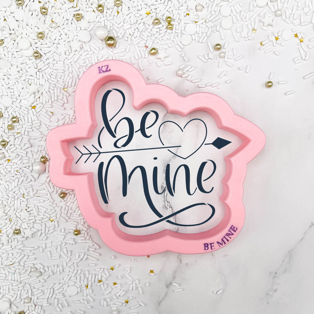 Be Mine (Style 2) Hand Lettered