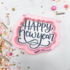 Happy New Year Hand Lettered