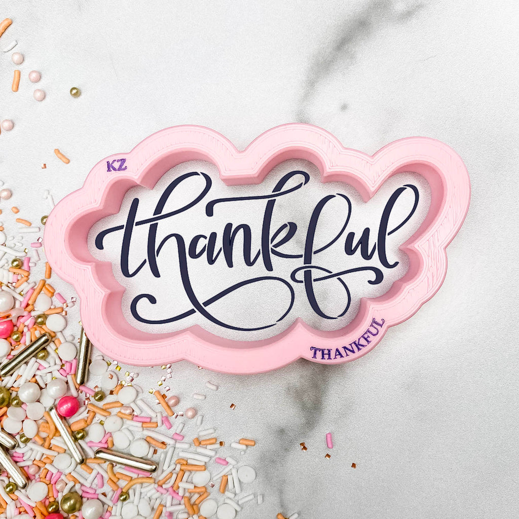 Thankful Hand Lettered