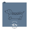 Wiener Dog Cutter/Stencil