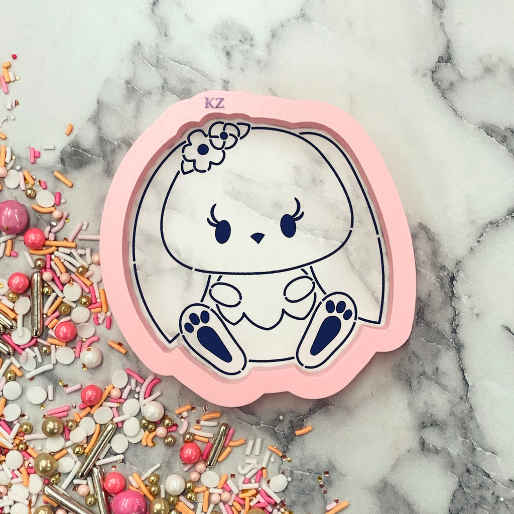 Baby Bunny Cutter/Stencil