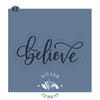 Believe Hand Lettered