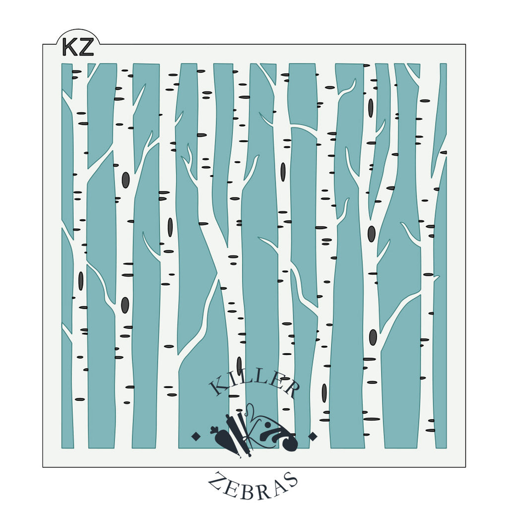 Birch Trees 2 Part