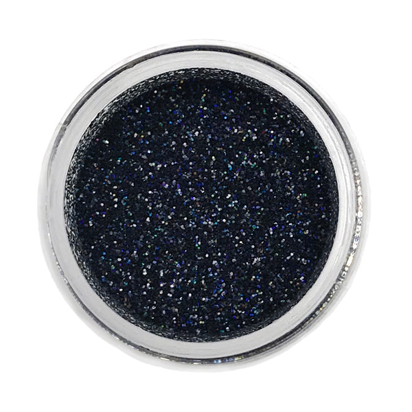 Black Sparkle Disco Glitter
