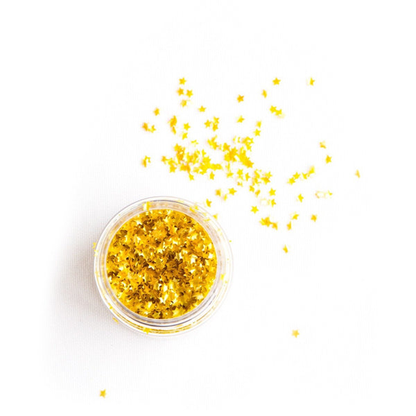 EDIBLE GOLD Metallic Stars |GF|VEGETARIAN|KOSHER|VEGAN