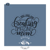 You Are One Freaking Amazing Mom Hand Lettered