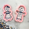 Gingerbread Kids Cutter/Stencil Set