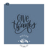 Give Thanks Hand Lettered