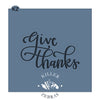 Give Thanks Hand Lettered (Style 2)