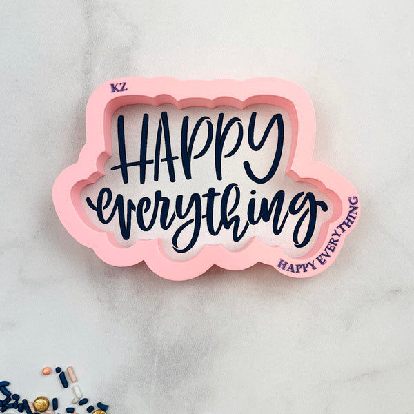 Happy Everything Hand Lettered