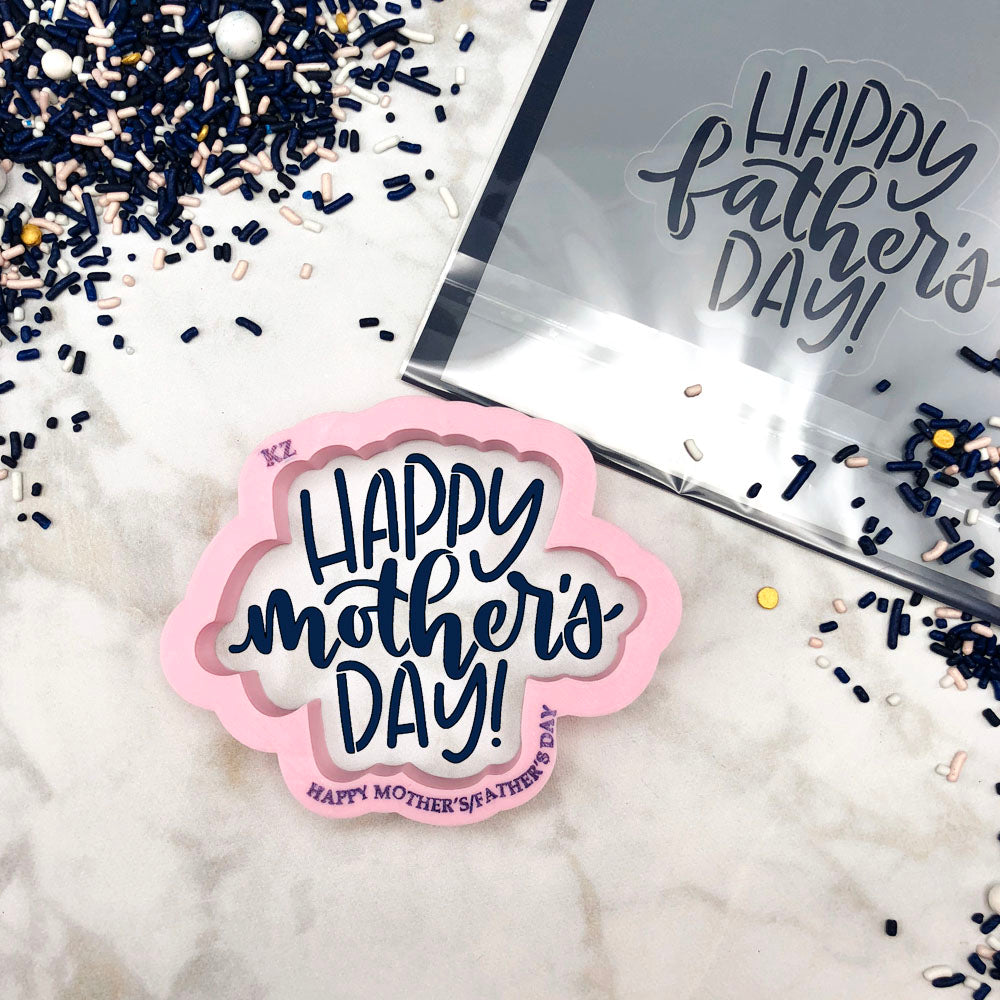 Happy Mother's/Father's Day Hand Lettered