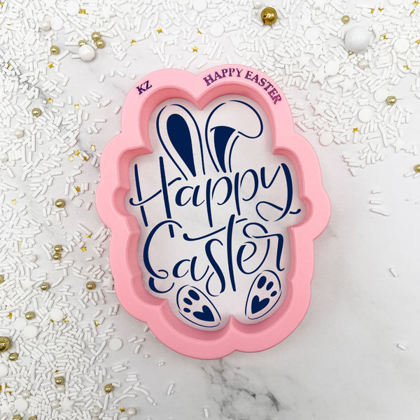 Happy Easter (Style 2) Hand Lettered